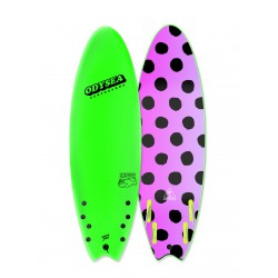 catch surf odysea 6'0 quad skipper lime